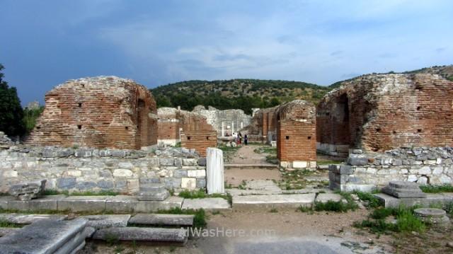 EFESO 3 Iglesia de Maria, Mary's church Turquia. Ephesus Turkey