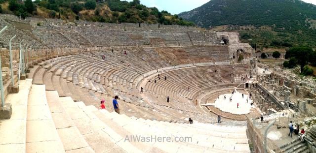 EFESO 4.Gran teatro romano, Grand roman theather Alwashere Turquia. Ephesus Turkey (2)