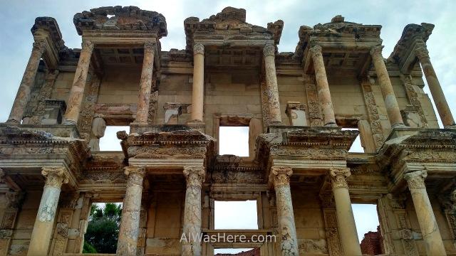 EFESO 5. Fachada biblioteca Celso. Celsus Library. Turquia. Ephesus Turkey. (2)