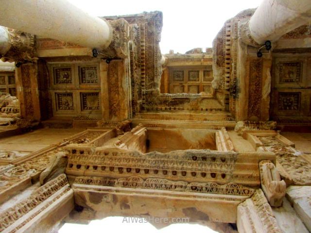 EFESO 5. Fachada biblioteca Celso. Celsus Library. Turquia. Ephesus Turkey.