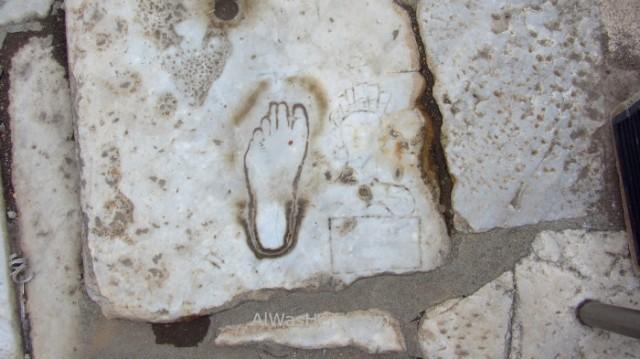 EFESO 6 huella burdel footprint brothel Turquia. Ephesus Turkey