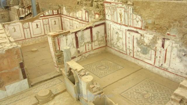 EFESO 7. Casas adosadas mosaicos, terraced houses Turquia. Ephesus Turkey. (2)