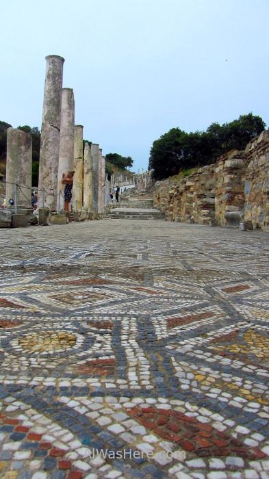 EFESO 9 mosaicos Ephesus Turquia. Turkey.