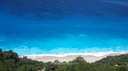 Playa de Egremni, Lefkada