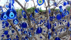 Ojos turcos de cristal en Capadocia