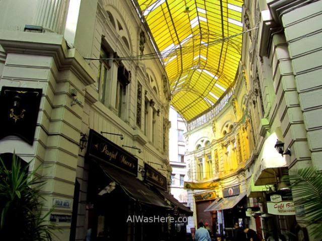 BUCAREST itinerario 5. Vilacrosse pasaje passage Centro historico old town, Rumania. Romania Bucharest (2)