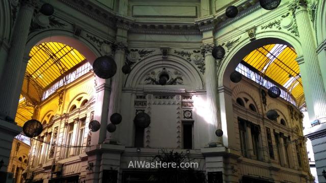 BUCAREST itinerario 5. Vilacrosse pasaje passage Centro historico old town, Rumania. Romania Bucharest