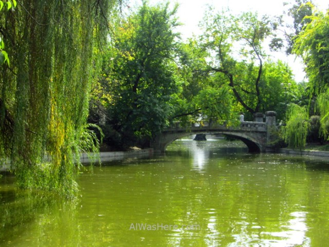 BUCAREST itinerario 7 Cismigiu park parque, Bucharest Rumania. Romania