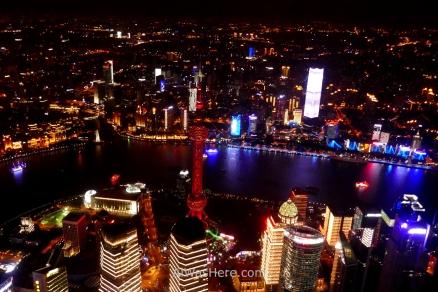 Vista desde la Torre de Shanghai