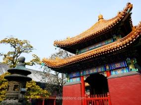 Templo del Lama en Pekín, China