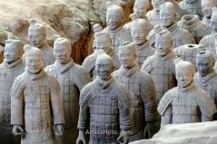 Guerreros del Ejército de Terracota, Xi'an