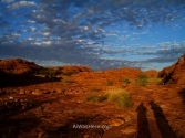 Kings Canyon al amanecer, Australia