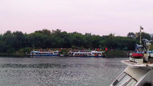 Guilin botes barcos crucero dos rios cuatro lagos China 2 4