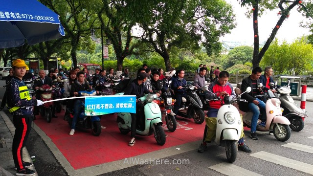 GUILIN transporte, motos China motorbikes