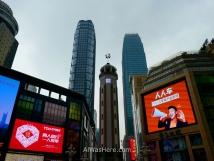 Plaza Jiefangbei, Chongqing
