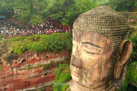 Gran Buda de Leshan, Sichuan
