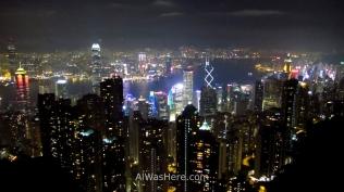 Vista de Hong Kong desde el Victoria Peak