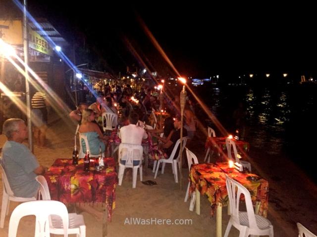 el nido informaciÓn 2. restaurantes sobre la arena de la playa, beach sand palawan filipinas, philippines