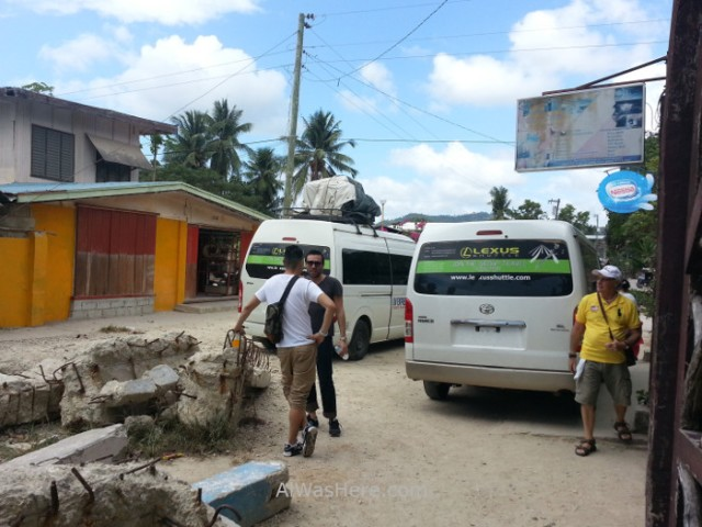 el nido transporte 3. lexus shuttles minivans hacia sabang, palawan filipinas. philippines