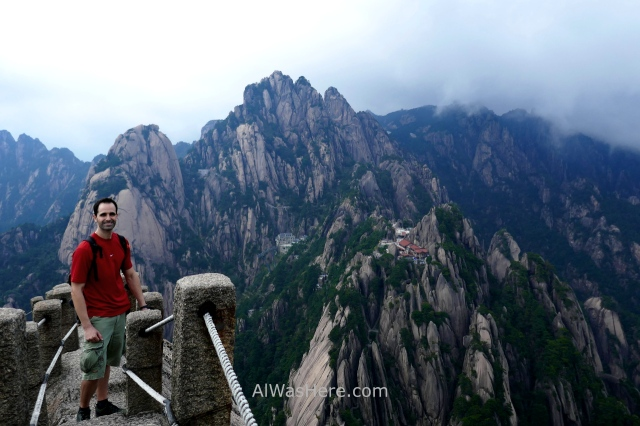 huangshan 12 mountain yellow montaña amarilla cima cumbre top summit celestial capital peak pico alwashere