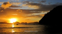 La puesta de sol en Marimegmeg es tan buena, que la elegí como foto de presentación de Filipinas