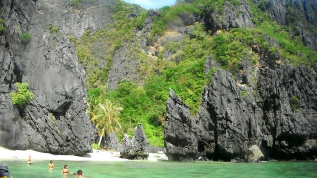 EL NIDO TOUR A Secret Lagoon, Palawan, Filipinas