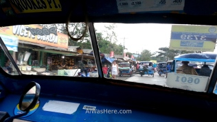 La Estación New Market de San José vista desde un triciclo