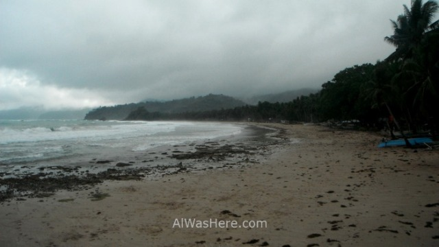 SABANG cuando ir when to go playa beach bad weather mal tiempo, Palawan, Filipinas Philippines