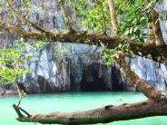 Entrada al Río Subterráneo de Puerto Princesa, Sabang, Palawan, Filipinas