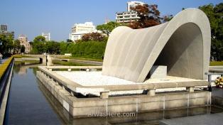 Memorial Park en Hiroshima, Japón