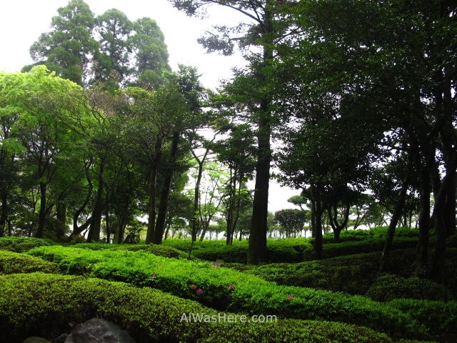 Kirishima Parque Nacional 2. National Park Japon Japan Kyushu JArdin garden Hotel Balneario en Kirishima Onsen Spa