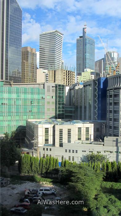 MAKATI información 1. rascacielos skyscrapers peligros dangers, Manila, Filipinas Philippines