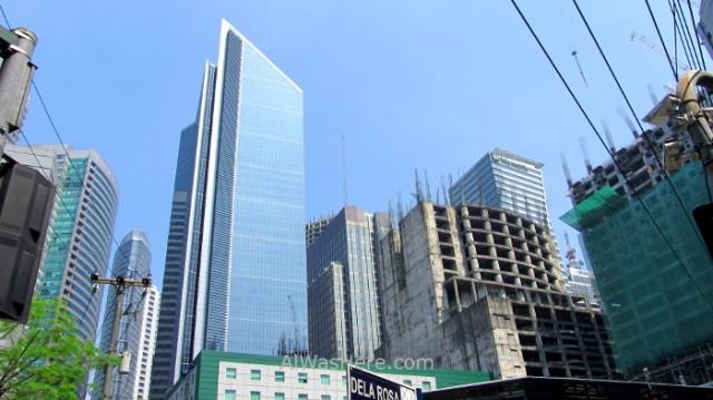 MAKATI información 2. rascacielos skyscrapers peligros dangers, Manila, Filipinas Philippines