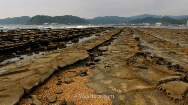 AOSHIMA 2. Isla Island ONI NO SENTAKUITA TABLA DE LAVAR DEL DIABLO DEVIL'S WASHBOARD Japan Japon Kyushu Miyazaki