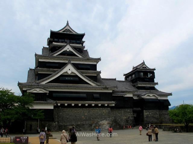 KYUSHU 1. Castillo Kumamoto castle, Japan, Japon