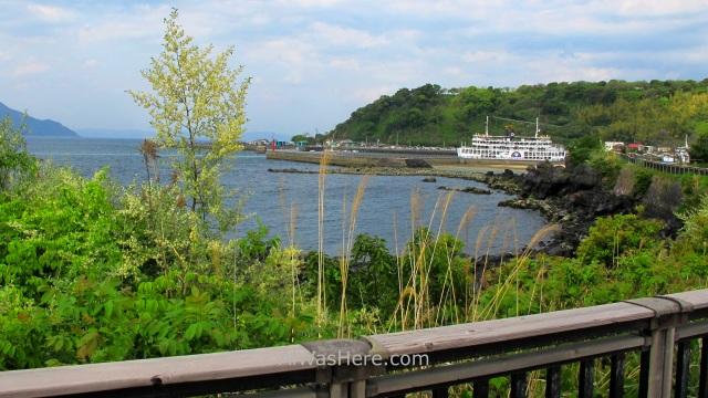 KYUSHU 3. Ferry Sakurajima, Japan, Japon