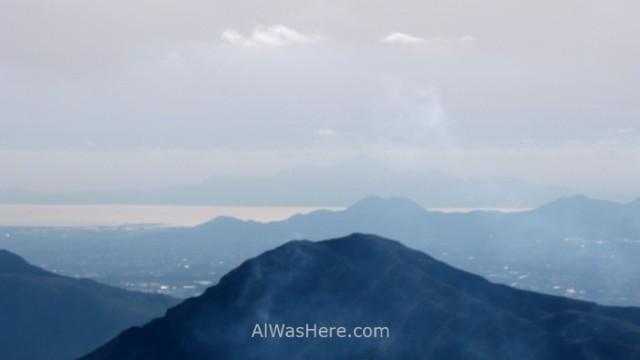 MONTE ASO 14. Mar sea Sendero trail Nakadake Asosan Mount Summit, Kyushu, Japon, Japan