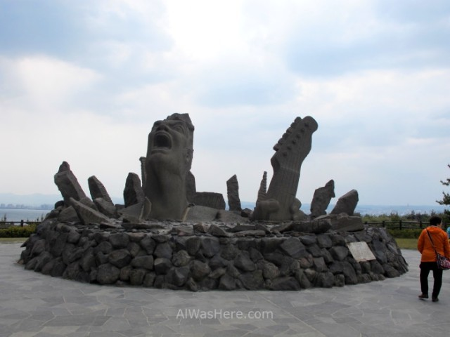 Sakurajima 7. Nagisa Lava Trail, Kyushu Japon Japan escultura sculpture