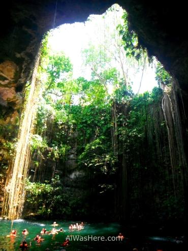 Cenote Ik Kil, Yucatán, México