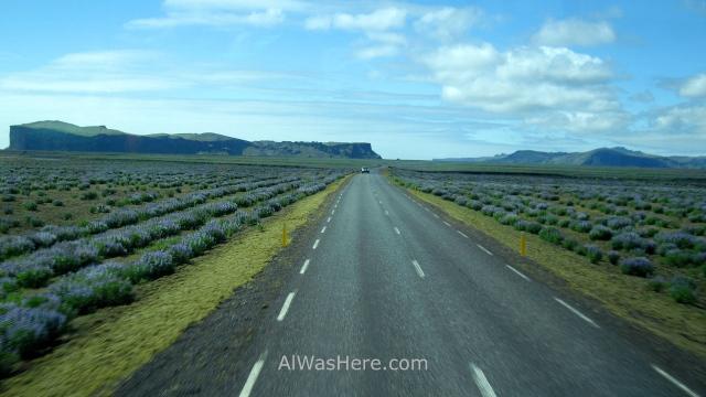 ISLANDIA TRANSPORTE 2. Iceland carreteras convencional main roads