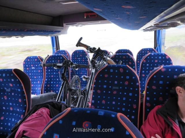ISLANDIA TRANSPORTE 3. bicicletas bicycle alwashere Iceland transporte en autobus (2)