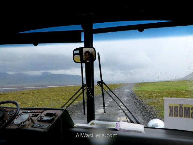 ISLANDIA TRANSPORTE 4. Iceland autobus 4x4 FWD Thorsmork (2)