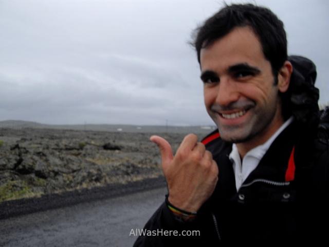 ISLANDIA TRANSPORTE 5. Iceland autostop hitchhiking alwashere