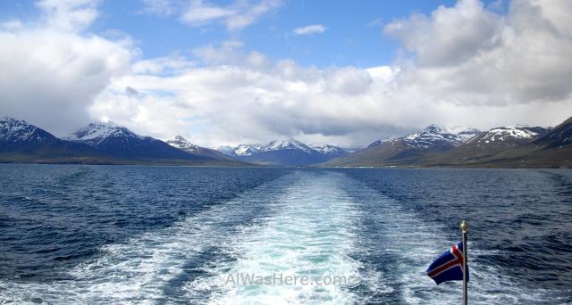 ISLANDIA TRANSPORTE 6. Iceland ferry Grimsey Island