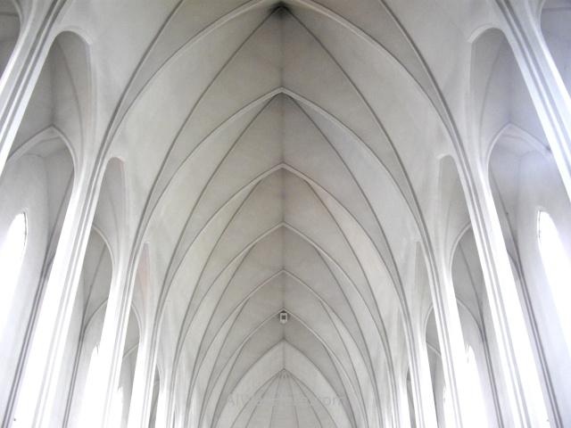 REIKIAVIK 1 iglesia church Hallgrimskirkja interior Reykjavik Iceland Islandia