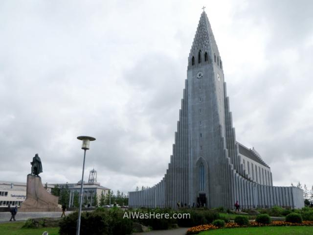 REIKIAVIK 1 iglesia church Hallgrimskirkja Reykjavik Iceland Islandia