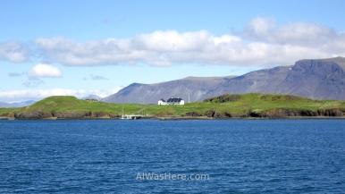 Isla Videy vista desde Reikiavik