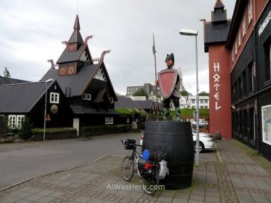 Un gracioso hotel en Reikiavik