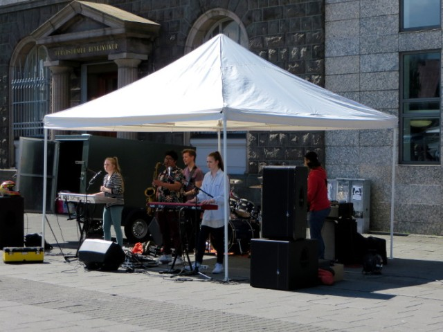 ISLANDIA 4. islandeses cantando grupo festival Icelanders singing Iceland