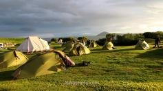 Campings del Lago Mývatn, Islandia